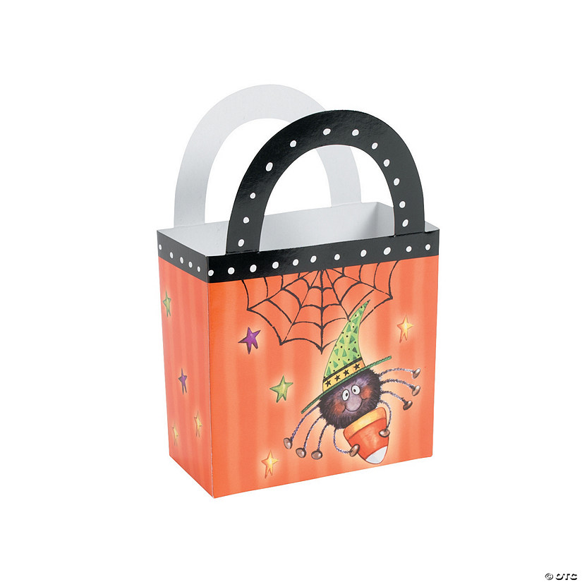 Candy Corn Spider Favor Bags