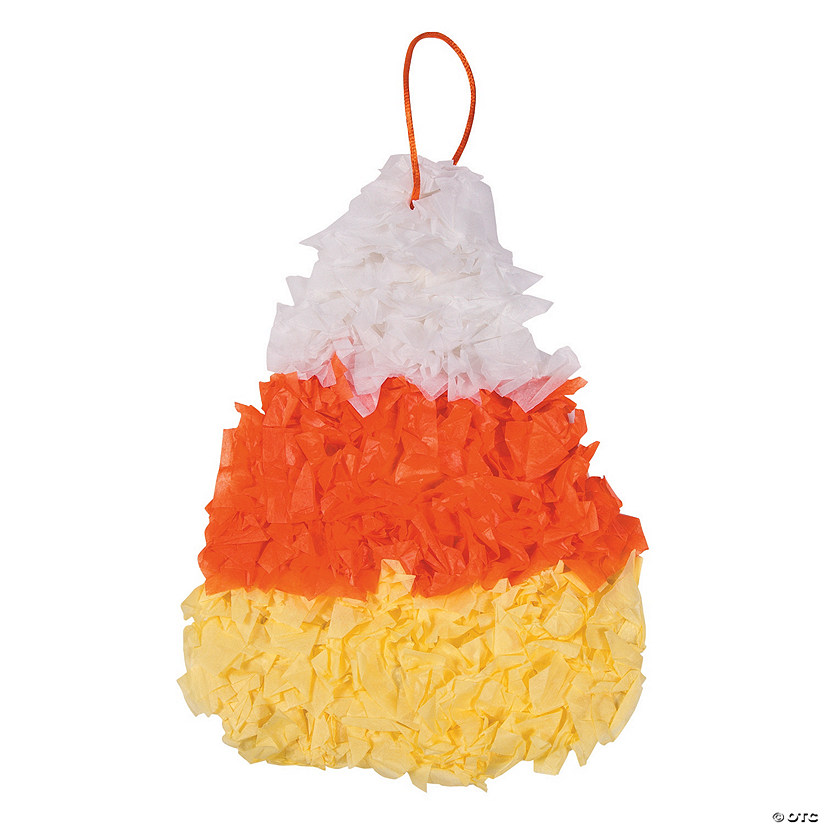 Candy Corn Tissue Paper Craft Kit Audio Thumbnail