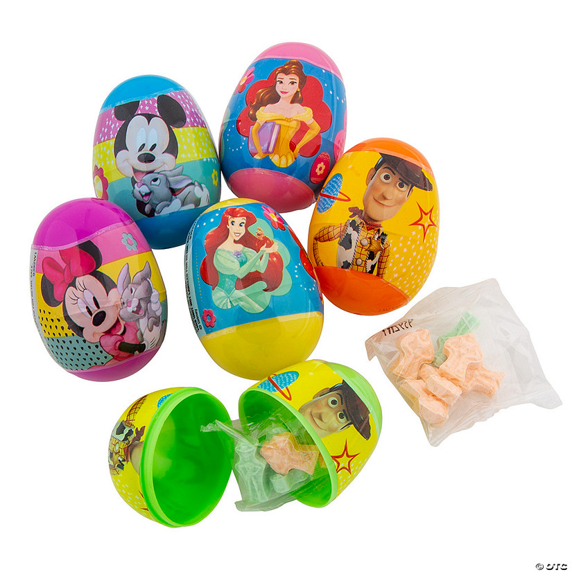 Candy-Filled Disney<sup>™</sup> Plastic Easter Eggs - 16 Pc.