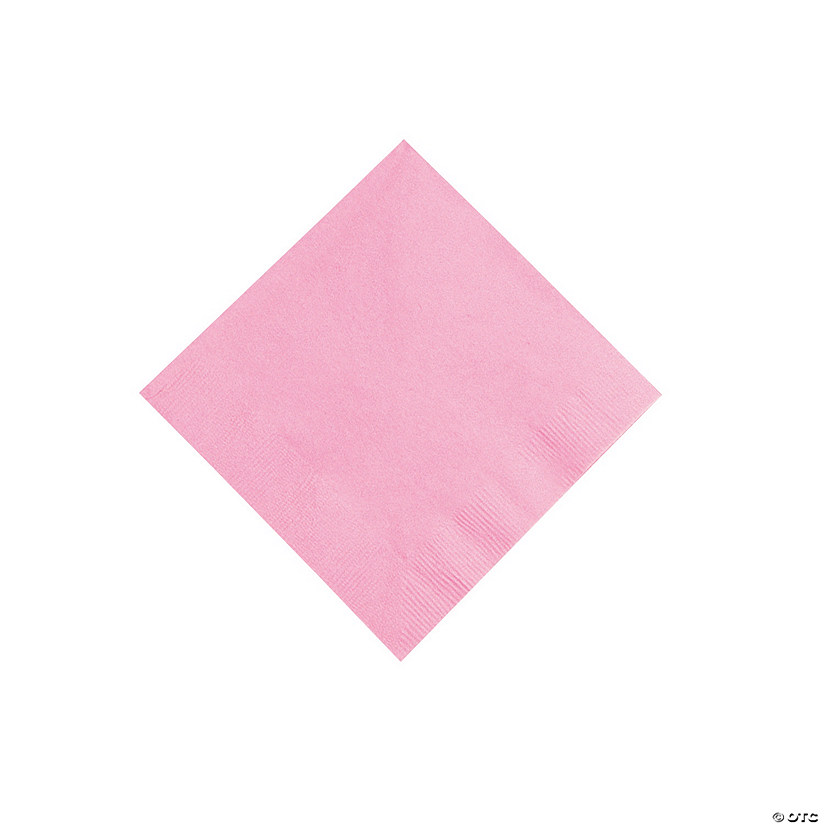 Candy Pink Beverage Napkins Audio Thumbnail