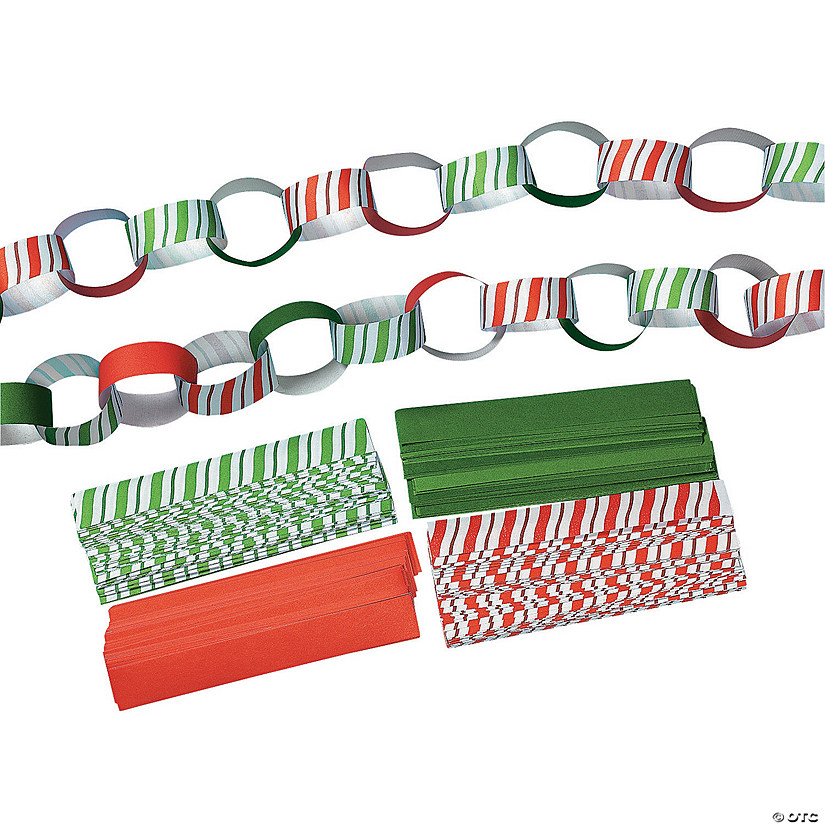 Candy-Striped Paper Chains Audio Thumbnail