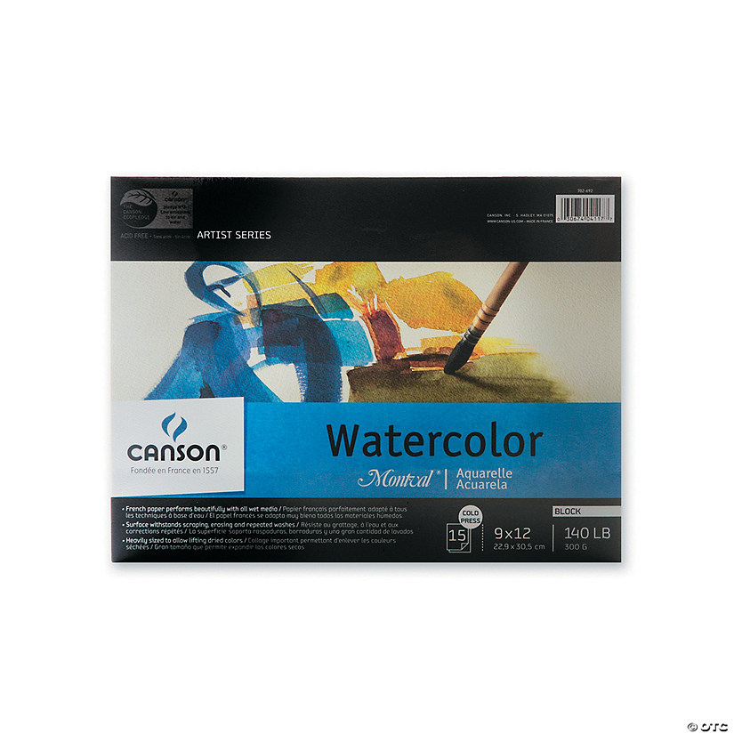 Canson Montval Watercolor Paper
