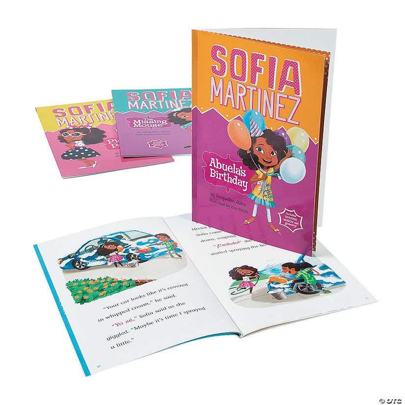 Capstone® Sofia Martinez Books - Set of 4