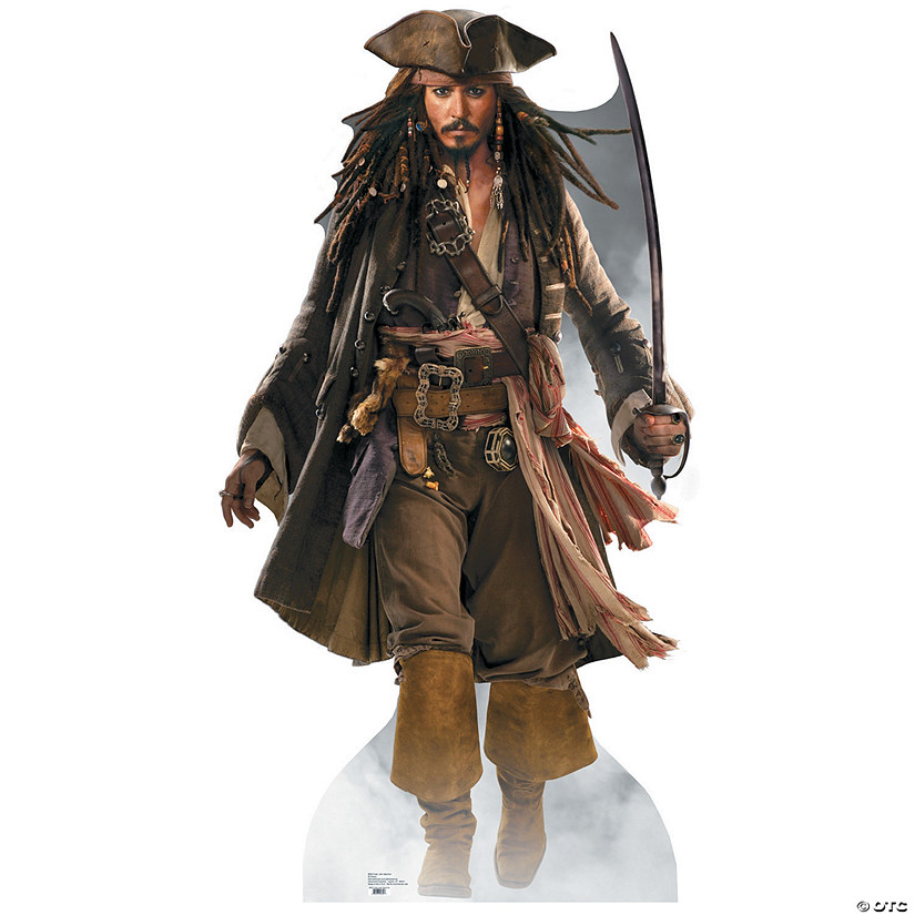 Captain Jack Sparrow - Pirates of the Caribbean Cardboard Stand-Up Audio Thumbnail