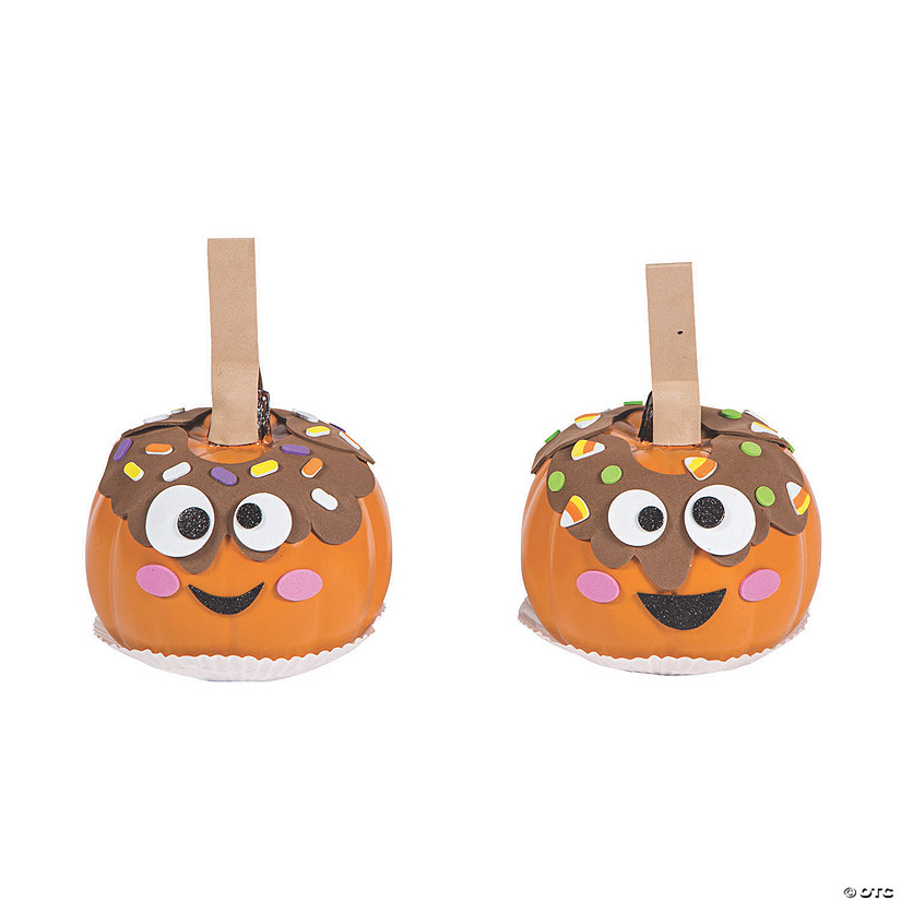 Caramel Apple Pumpkin Decorating Craft Kit Image Thumbnail