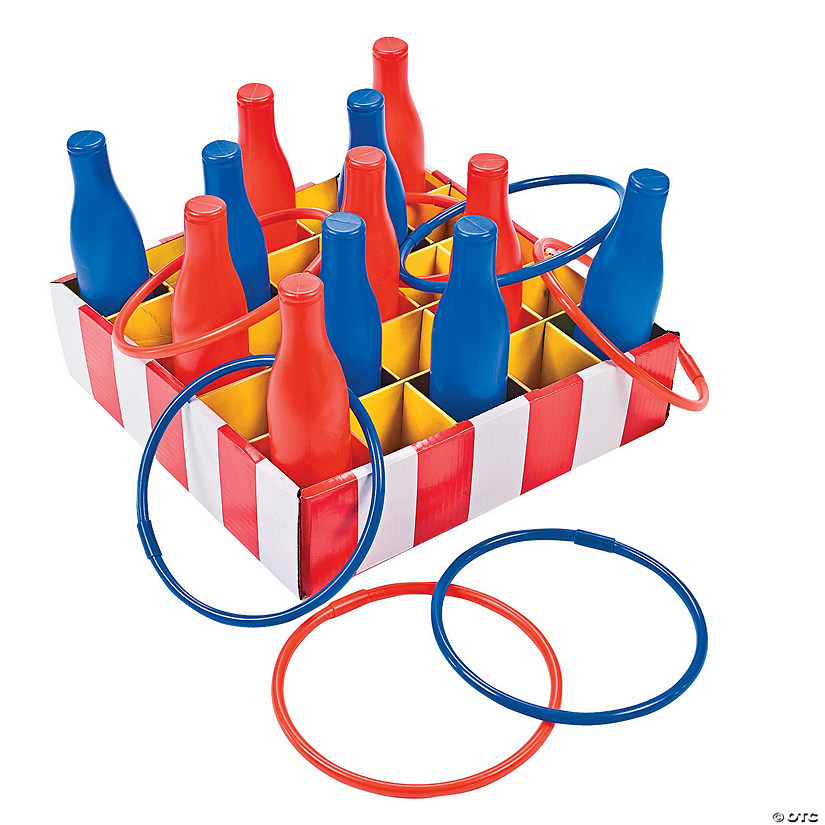 Carnival Bottle Ring Toss Game Image Thumbnail