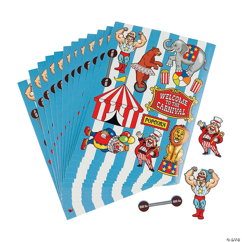 Carnival Sticker Sheets Audio Thumbnail