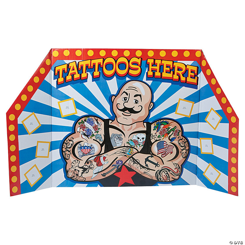 Carnival Tattoo Booth Cardboard Stand-up Audio Thumbnail