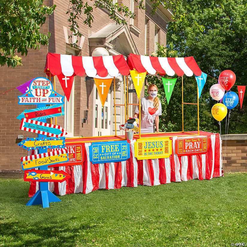 Carnival VBS Decorating Kit Image Thumbnail