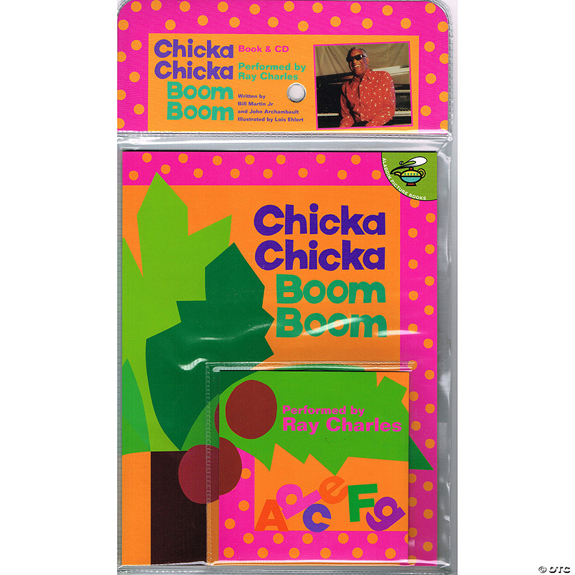 Carry Along Book & CD, Chicka Chicka Boom Boom Audio Thumbnail