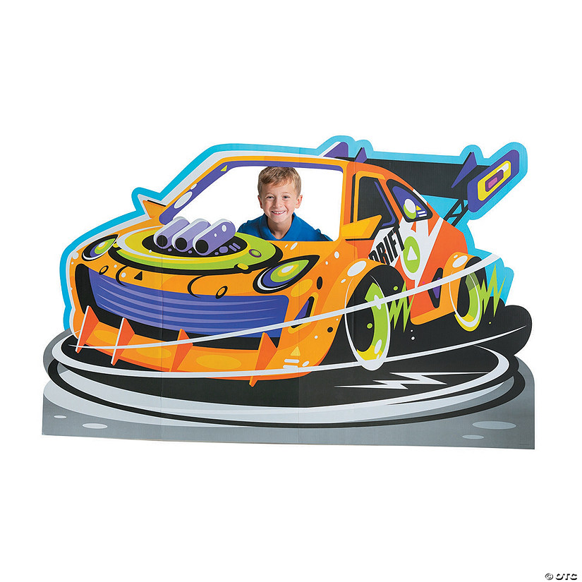 Cars & Trucks Party Cardboard Stand-Up Audio Thumbnail