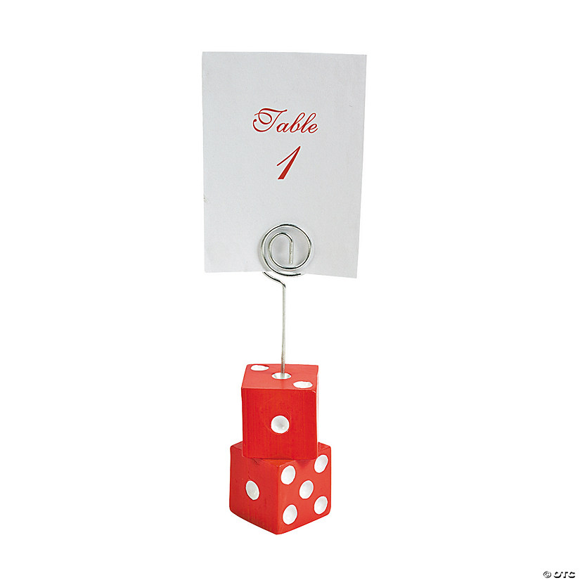 Casino Place Card Holders