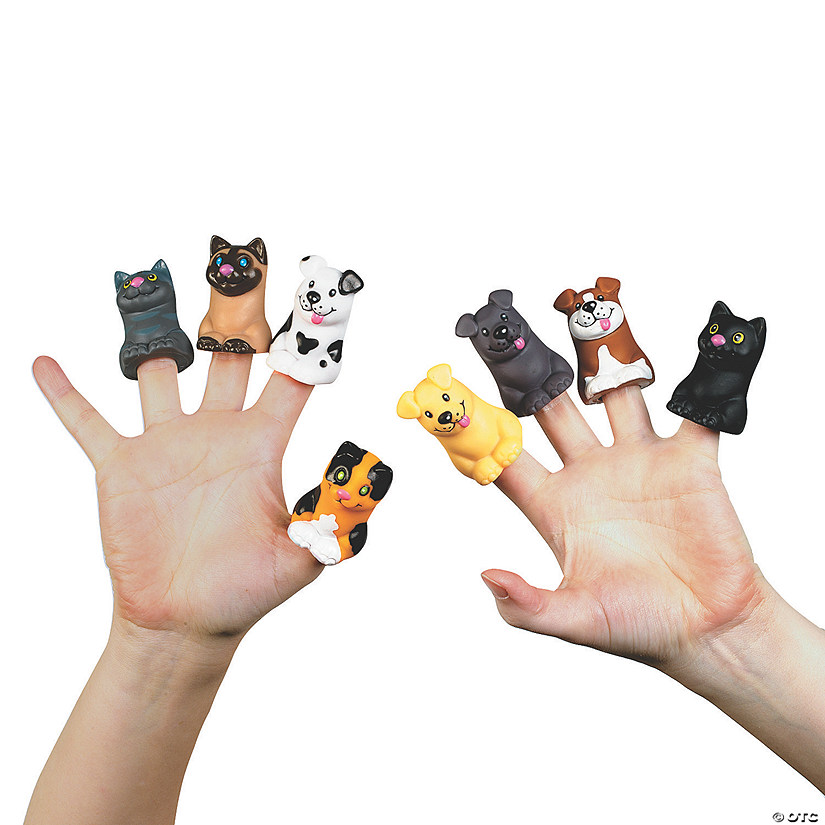 Cat & Dog Finger Puppets Audio Thumbnail