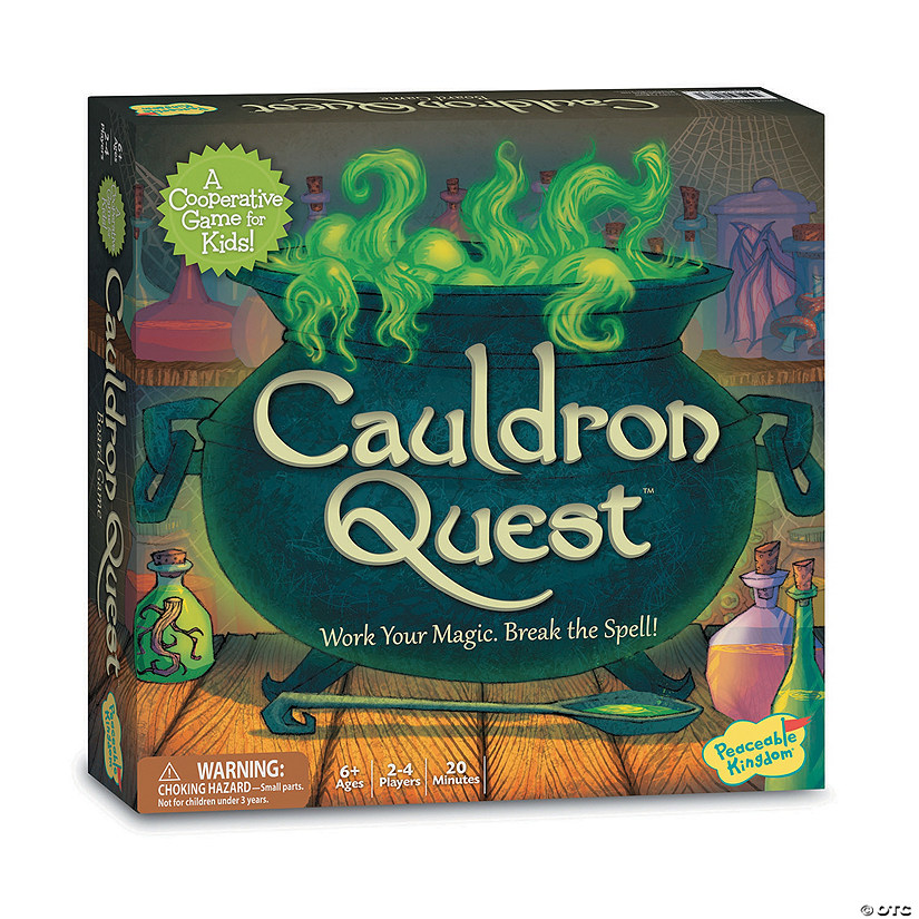 Cauldron Quest Audio Thumbnail