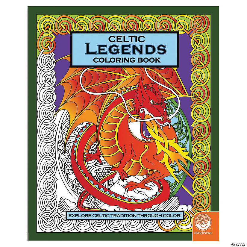 Celtic Legends Coloring Book Image Thumbnail