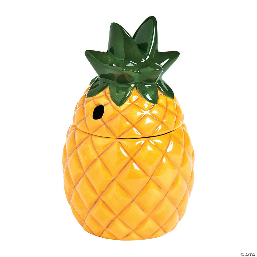 Ceramic Pineapple Tumblers With Lids Discontinued