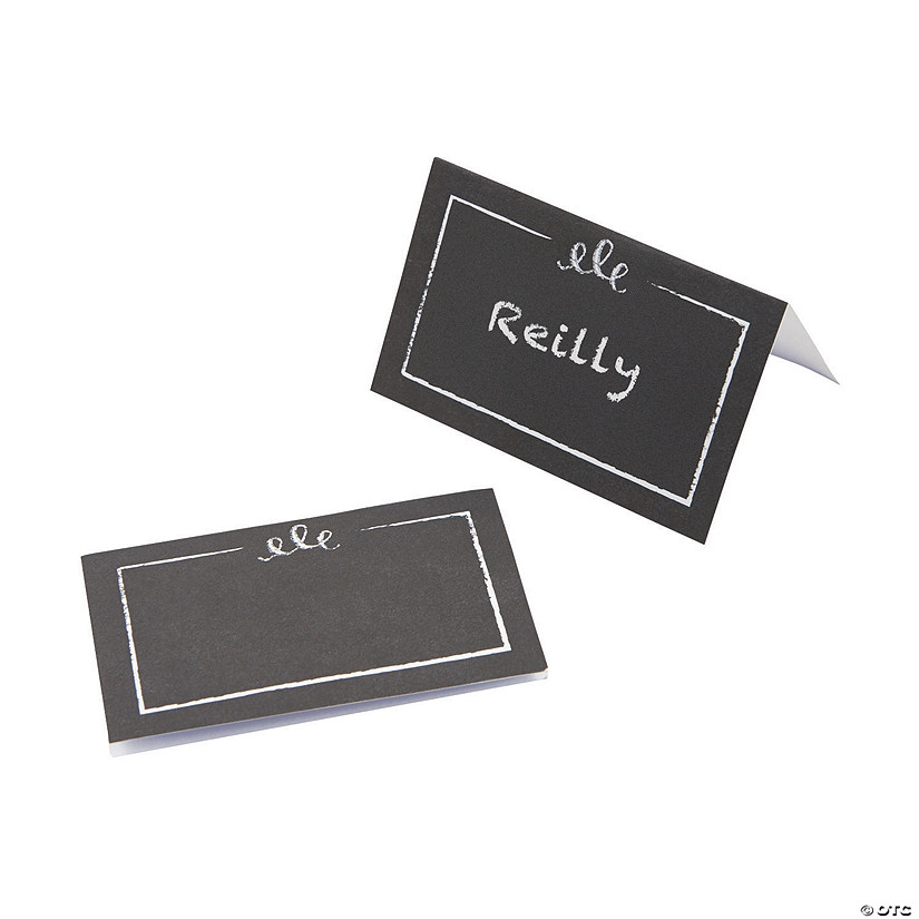 Chalkboard-Style Placecards Audio Thumbnail
