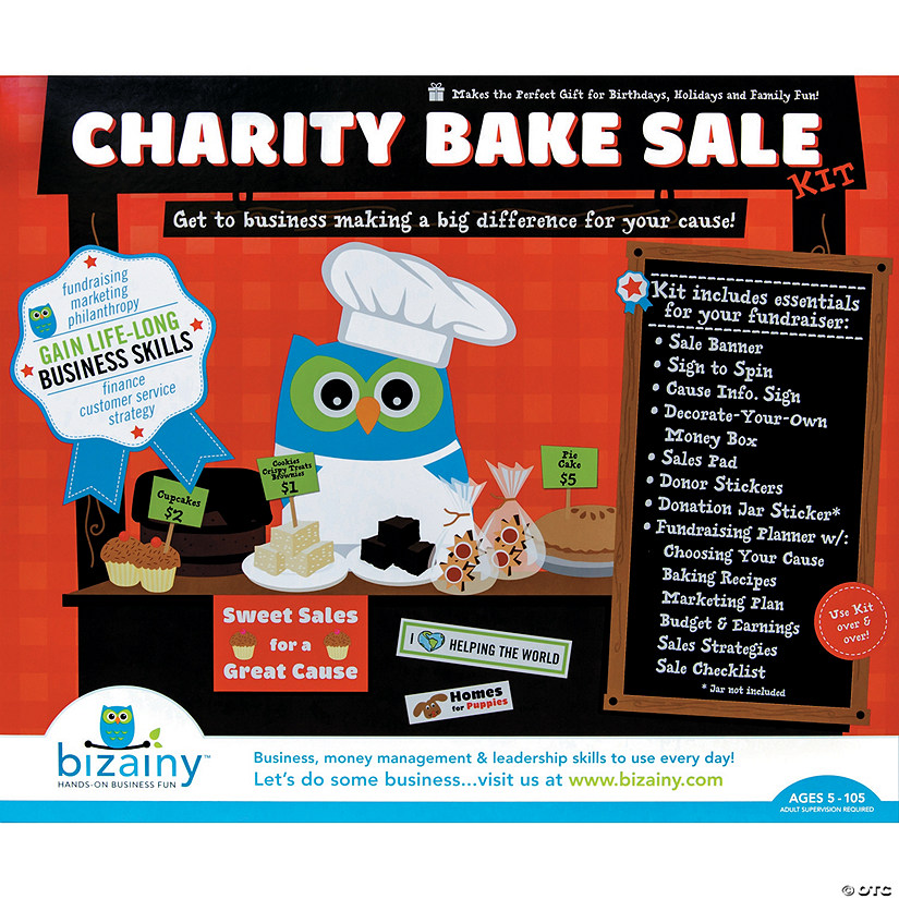 Charity Bake Sale Start-up Kit