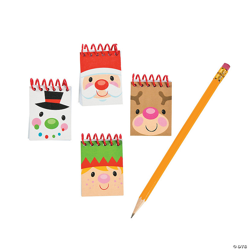 Cheery Christmas Mini Spiral Notepads Audio Thumbnail