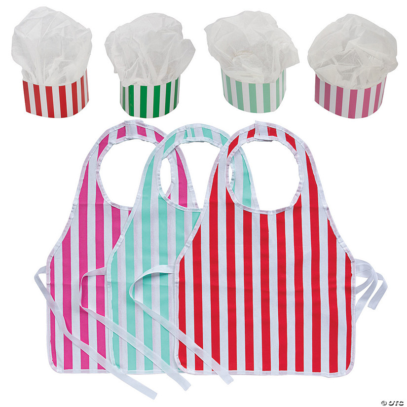 Chef Hat & Apron Baking Party Kit for 12 Image Thumbnail