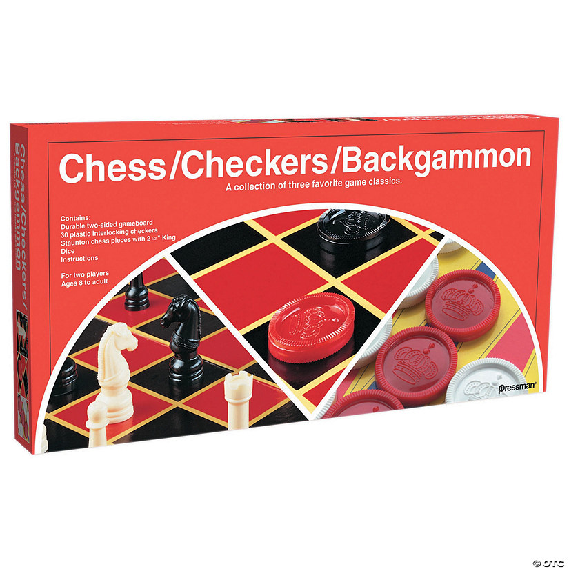 Chess, Checkers & Backgammon Board Game Sets Audio Thumbnail