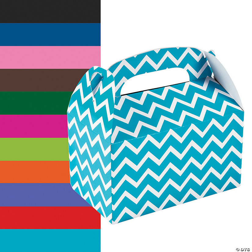 Chevron Favor Boxes Image Thumbnail
