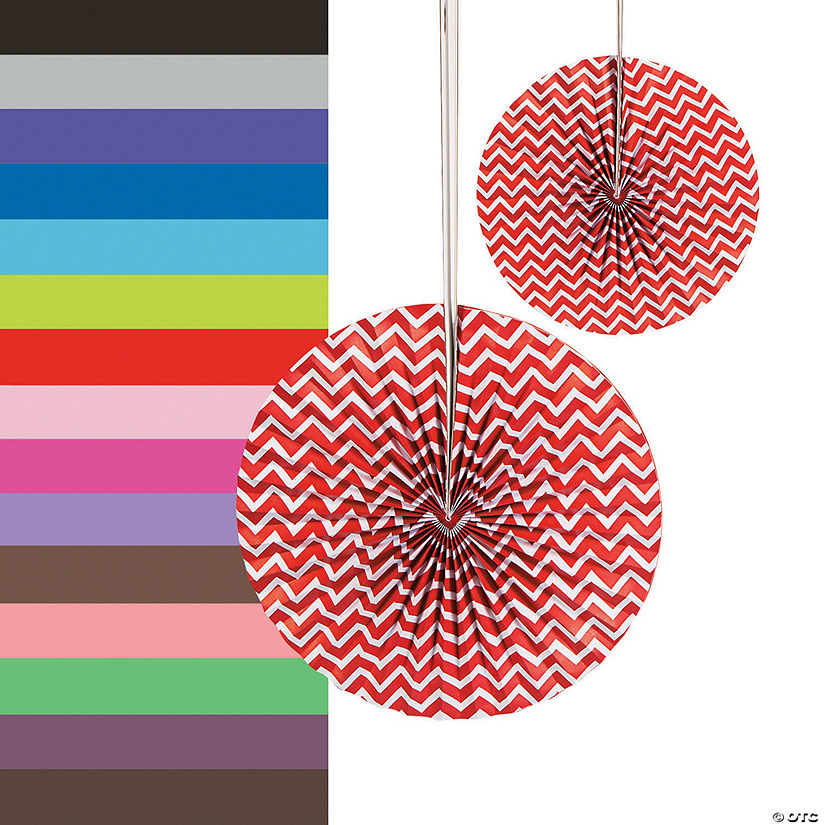 Chevron Hanging Fans Audio Thumbnail