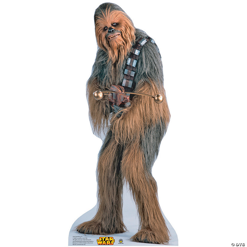 Chewbacca Cardboard Stand-Up