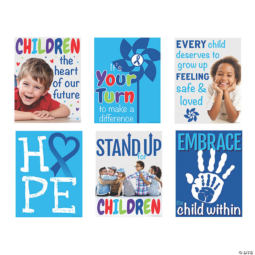 Child Abuse Prevention Posters Image Thumbnail