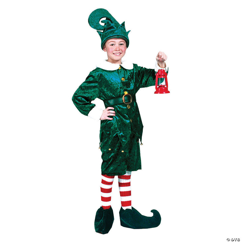 Child's Holly Jolly Elf Costume