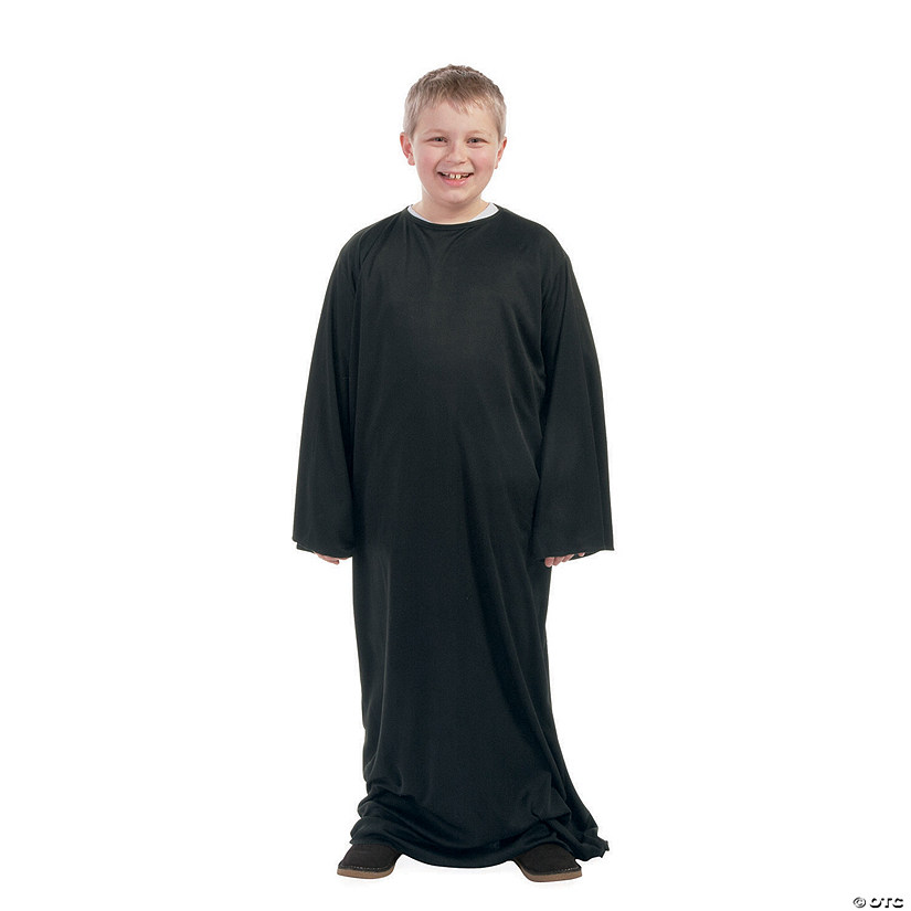Child's Large Black Nativity Gown Audio Thumbnail