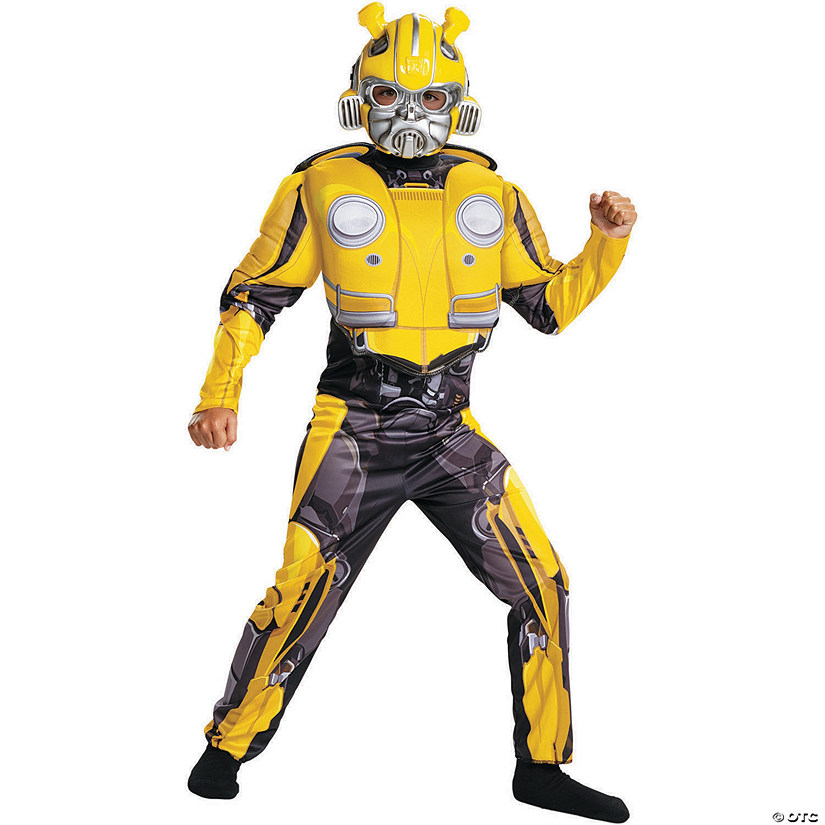Child's Muscle Transformers Bumblebee Costume Audio Thumbnail