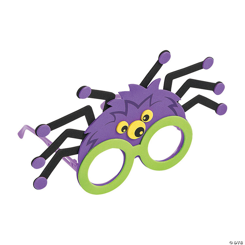 Child's Spider Glasses Craft Kit Image Thumbnail