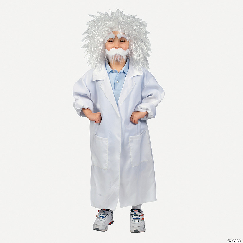 Child's White Lab Coat Costume - Medium Audio Thumbnail