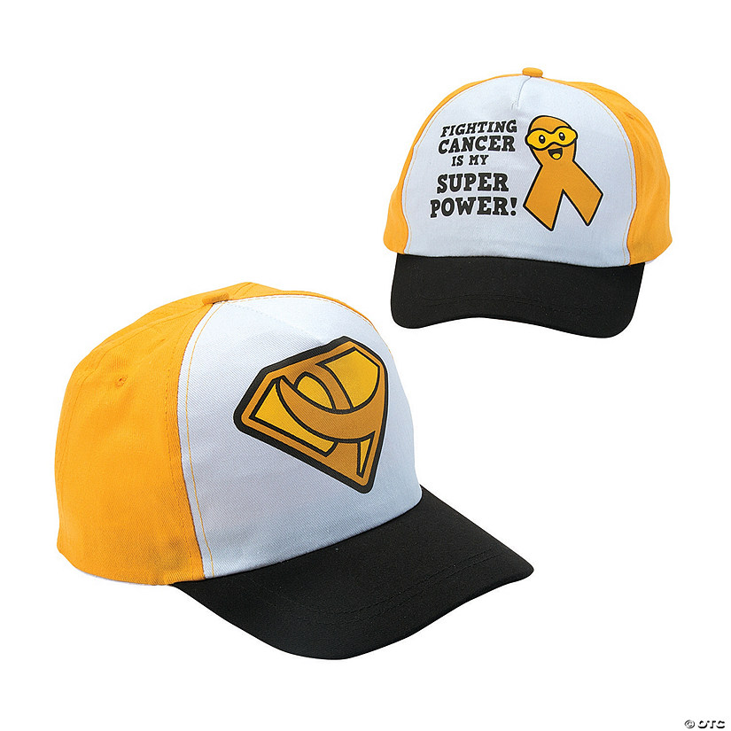 Childhood Cancer Awareness Baseball Hat Assortment