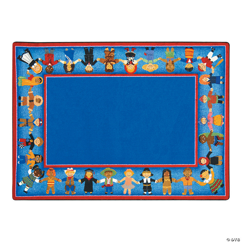 Children Of Many Cultures© Classroom Rug