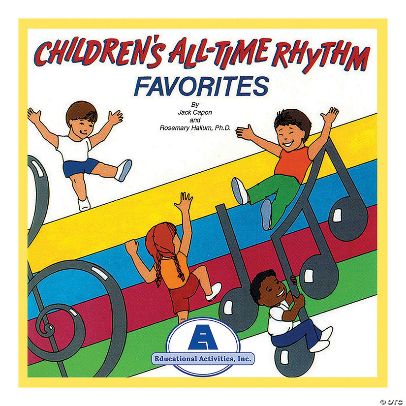 Children's All-Time Rhythm Favorites CD