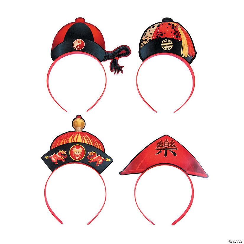 Chinese New Year Hat Headbands Audio Thumbnail