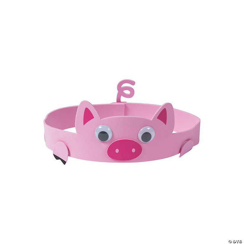 Chinese New Year Pig Crown Craft Kit