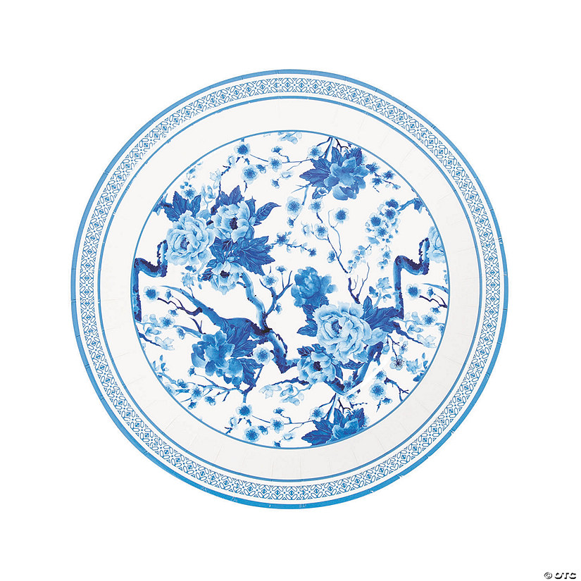 Chinoiserie Wedding Paper Dinner Plates Audio Thumbnail