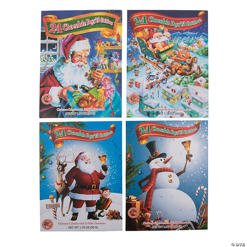 Chocolate Candy Christmas Advent Calendars Audio Thumbnail