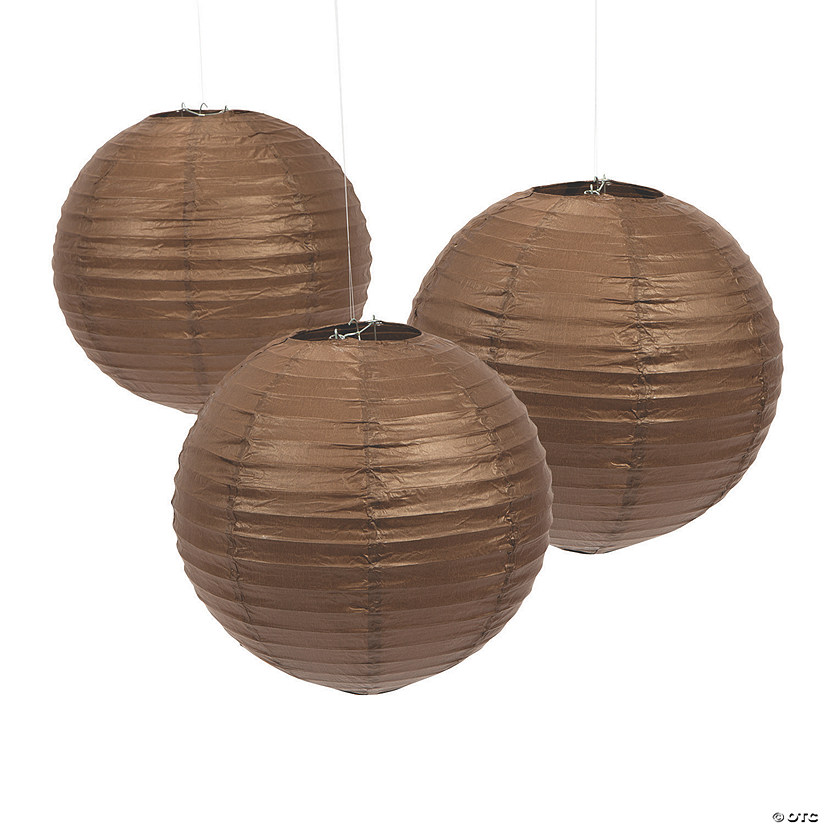 Chocolate Hanging Paper Lanterns Audio Thumbnail
