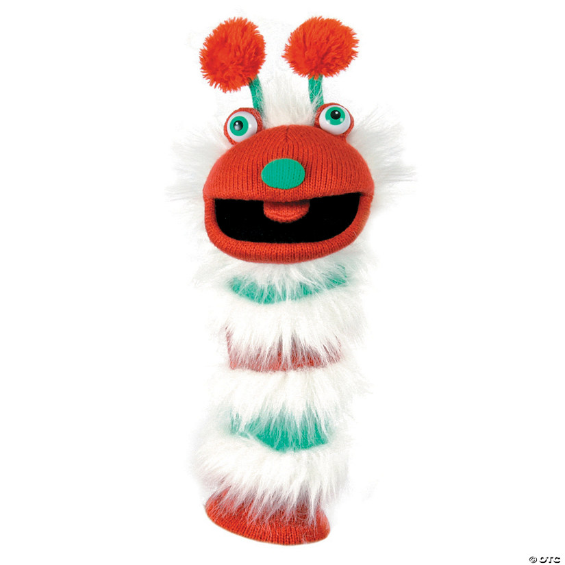 Chris Sockette Knitted Puppet