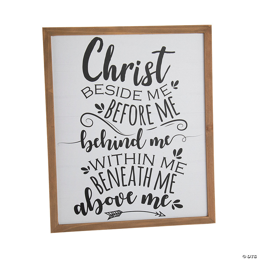 Christ Beside Me Sign Image Thumbnail