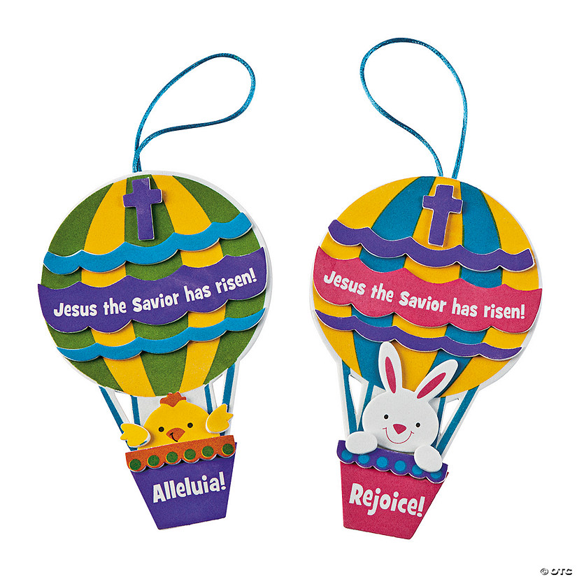 """Christ is Risen"" Hot Air Balloon Ornament Craft Kit Audio Thumbnail"