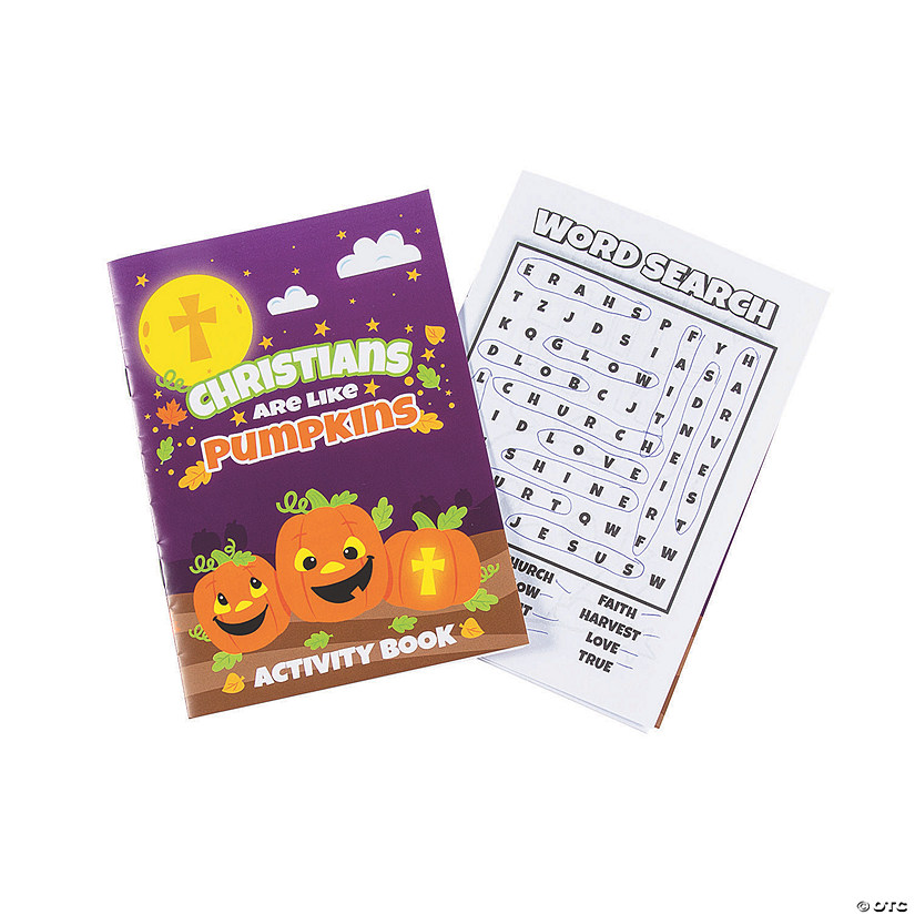 Christian Pumpkin Activity Books Image Thumbnail
