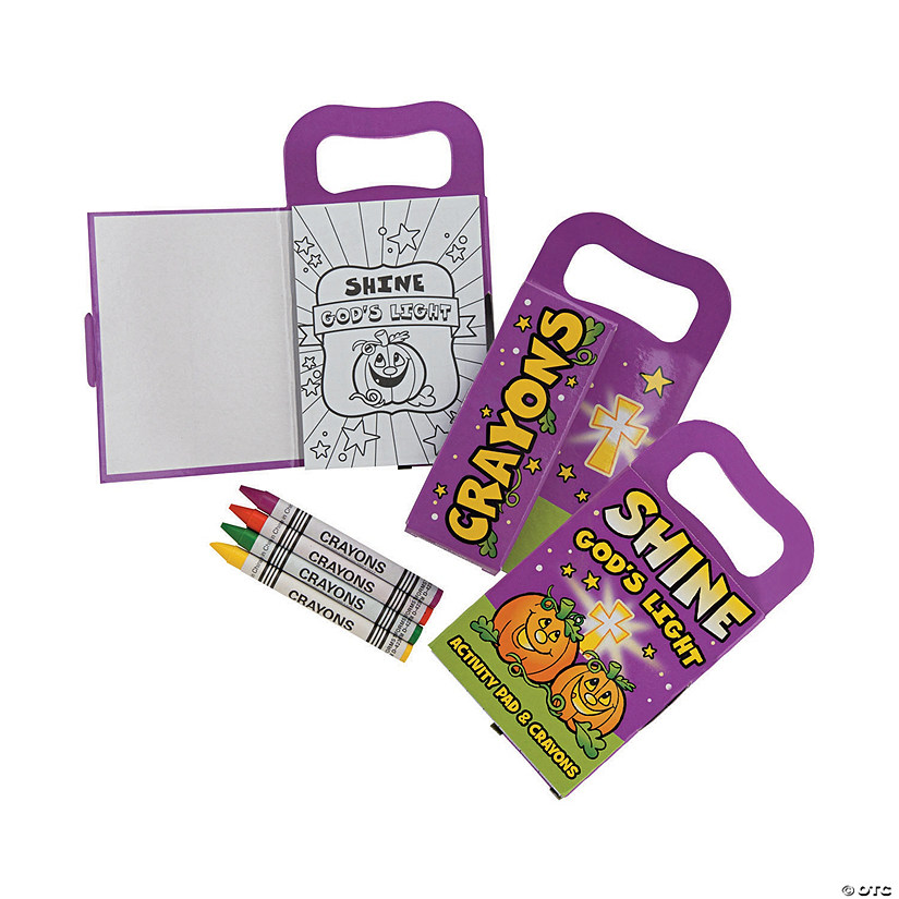 Christian Pumpkin Carry-Along Mini Activity Book Sets Image Thumbnail