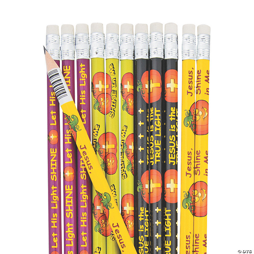 Christian Pumpkin Pencils - 24 Pc. Audio Thumbnail