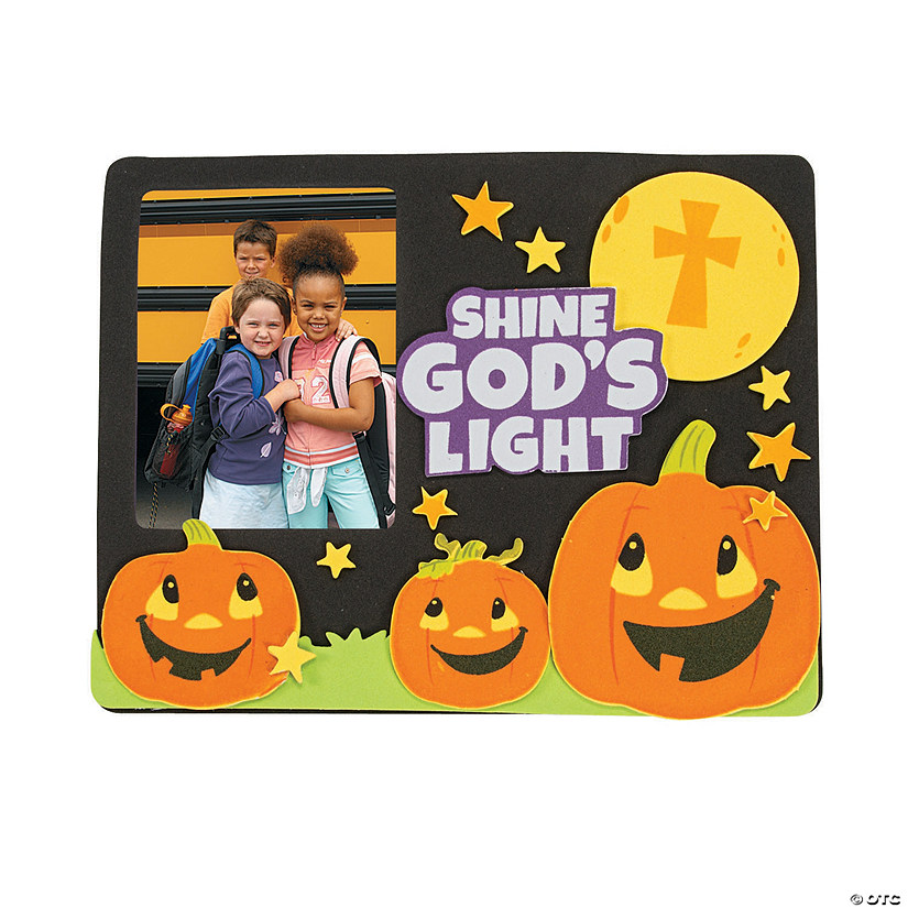 Christian Pumpkin Picture Frame Magnet Craft Kit Audio Thumbnail