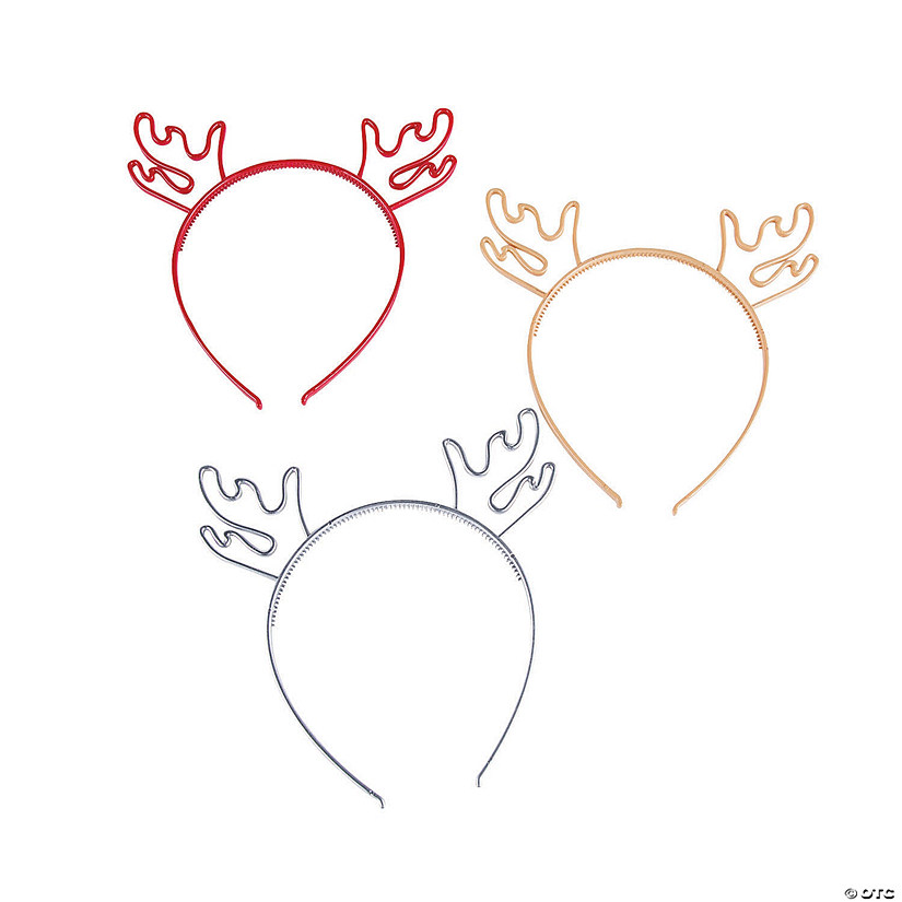 Christmas Antler Headbands Image Thumbnail